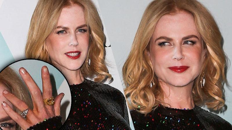 Nicole Kidman White Powder Nose Dirty Nails Photos