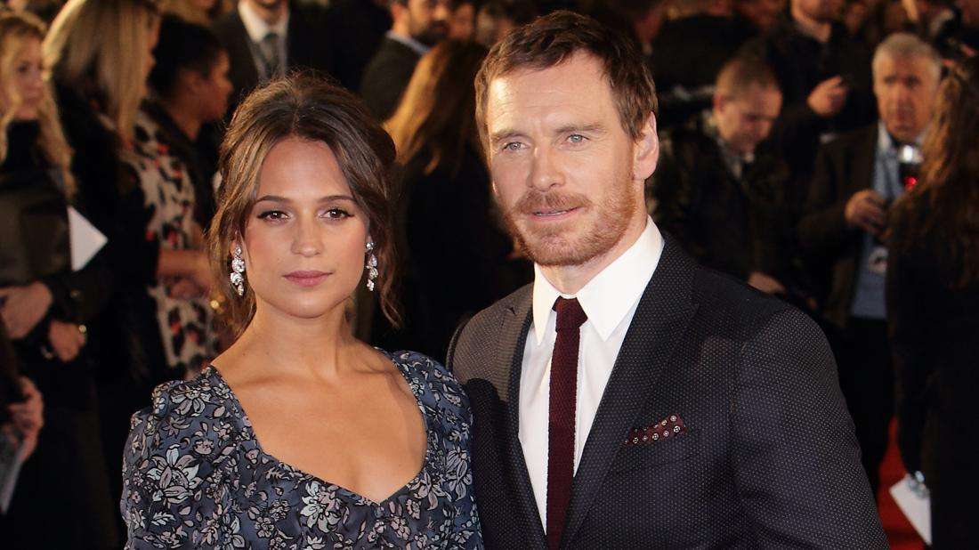 Alicia Vikander Michael Fassbender Marriage on Rocks