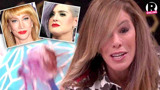 Fashion Police Melissa Rivers Kelly Osbourne Kathy Griffin Mess