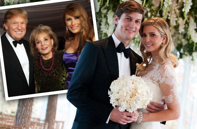 Ivanka Trump Wedding Donald Trump Celebrates Photos