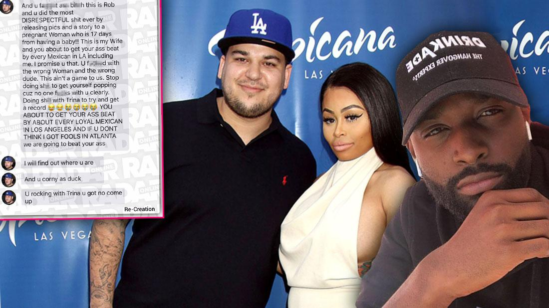 Radar Told You First! Explosive Text Threats From Rob To Chyna's Ex Resurface In New Lawsuit