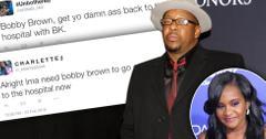 Bobby Brown Ripped Social Media