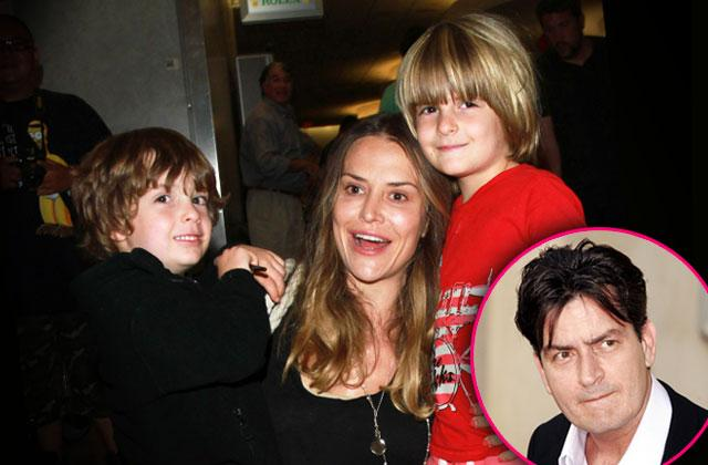 brooke mueller charlie sheen twins medical issues court documents
