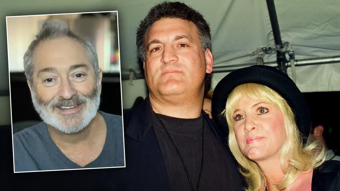 Mary Jo Buttafuoco With First Husband Joey With Inset of Second Husband Stu Tendler