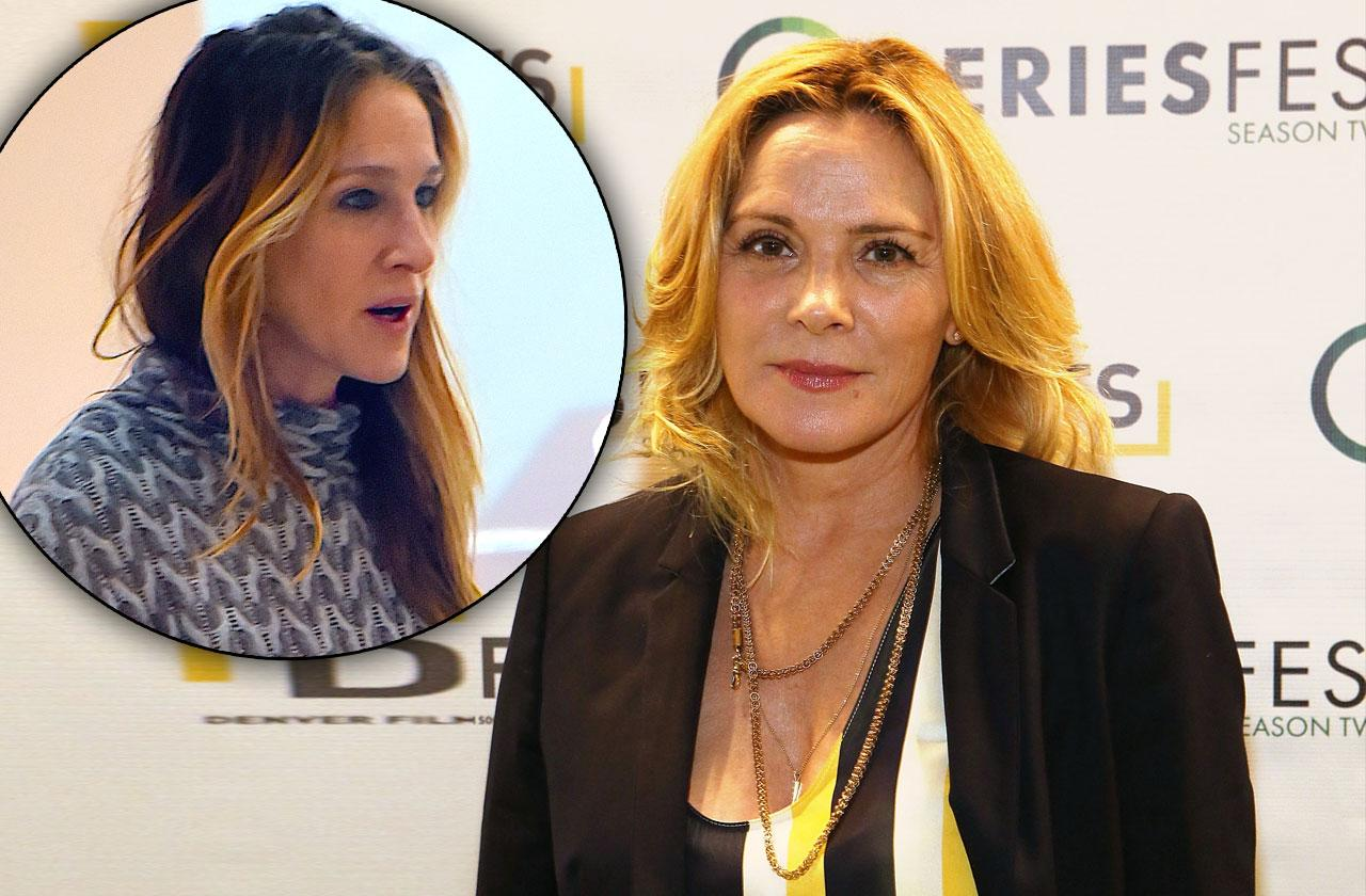 Kim Cattrall Reacts To SJP Comment