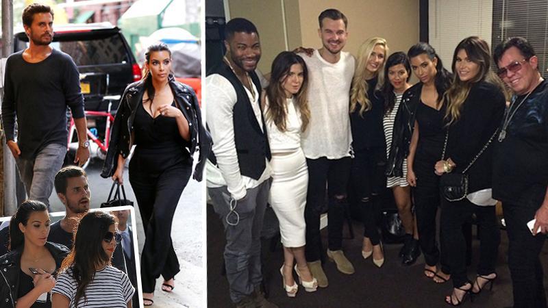 //kardashians go to church