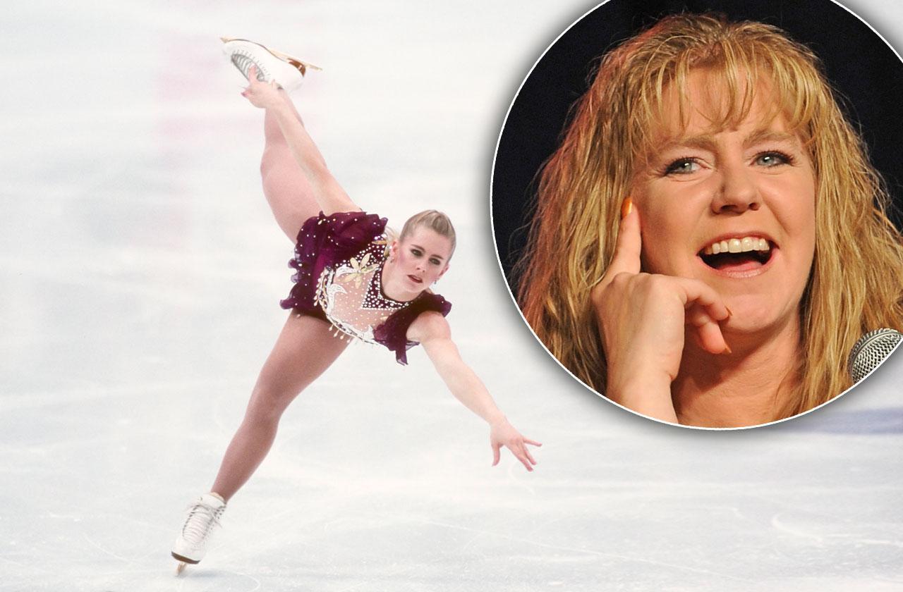 //Tonya Harding Ice Skating Comeback pp