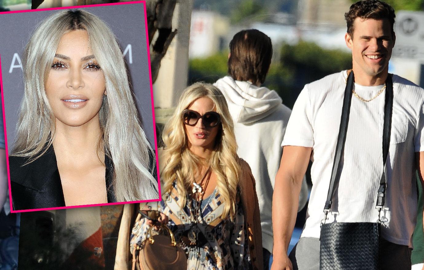 Kim Kardashian Ex Kris Humphries Spotted With Lookalike