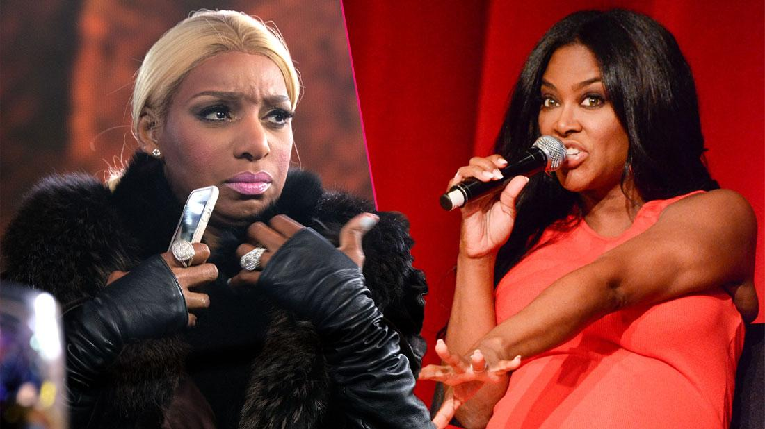 'RHOA' Blowout: NeNe & Kenya Have Another Huge Fight While Filming