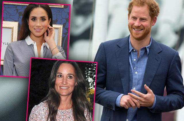 //prince harry meghan markle first official outing pippa middleton wedding pp