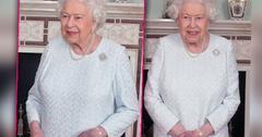Queen Elizabeth Bruised Purple Hand Photos