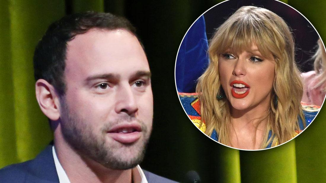 Scooter Braun Says He's Getting Death Threats From Taylor Swift Feud