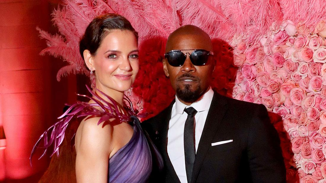 Jamie Foxx And Katie Holmes Pose As A Couple At 2019 Met Gala