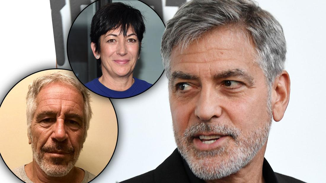 Jeffrey Epstein's Lover Allegedly Performed Sex Act On George Clooney
