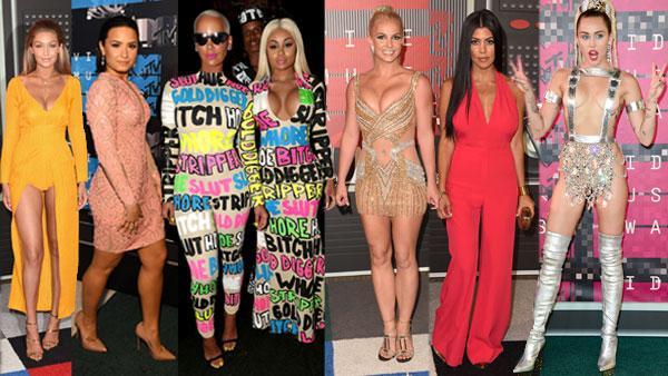MTV VMAs Red Carpet 2015 Kylie Jenner Miley Cyrus Best Worst Wackiest Fashion