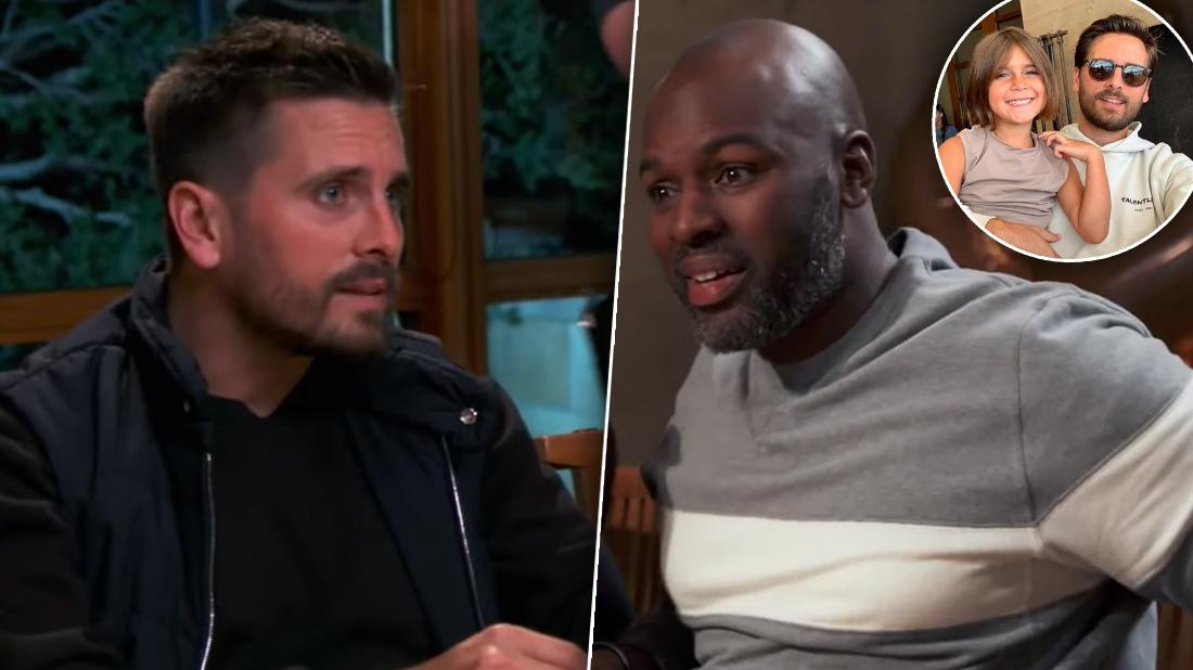 KUWTK's Scott Disick Yells As Corey Gamble Says He'd Spank Penelope
