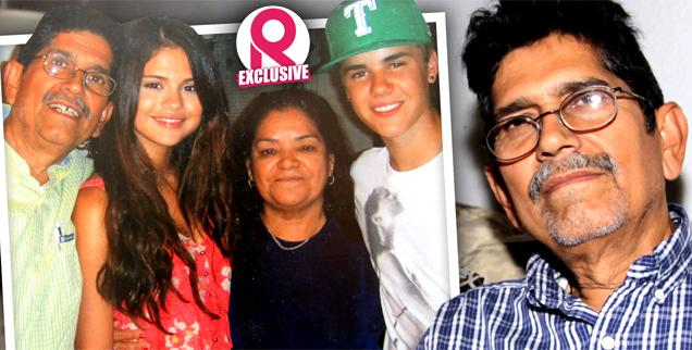 //selena gomez grandparents exclusive interview justin bieber wide