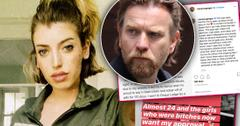 Ewan McGregor Daughter Clara Says She Went To Rehab For Pill Addition & Had An Abortion