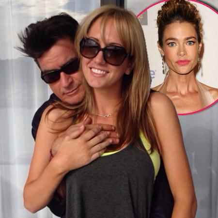 //charlie sheen brett rossi denise richards pp sqare
