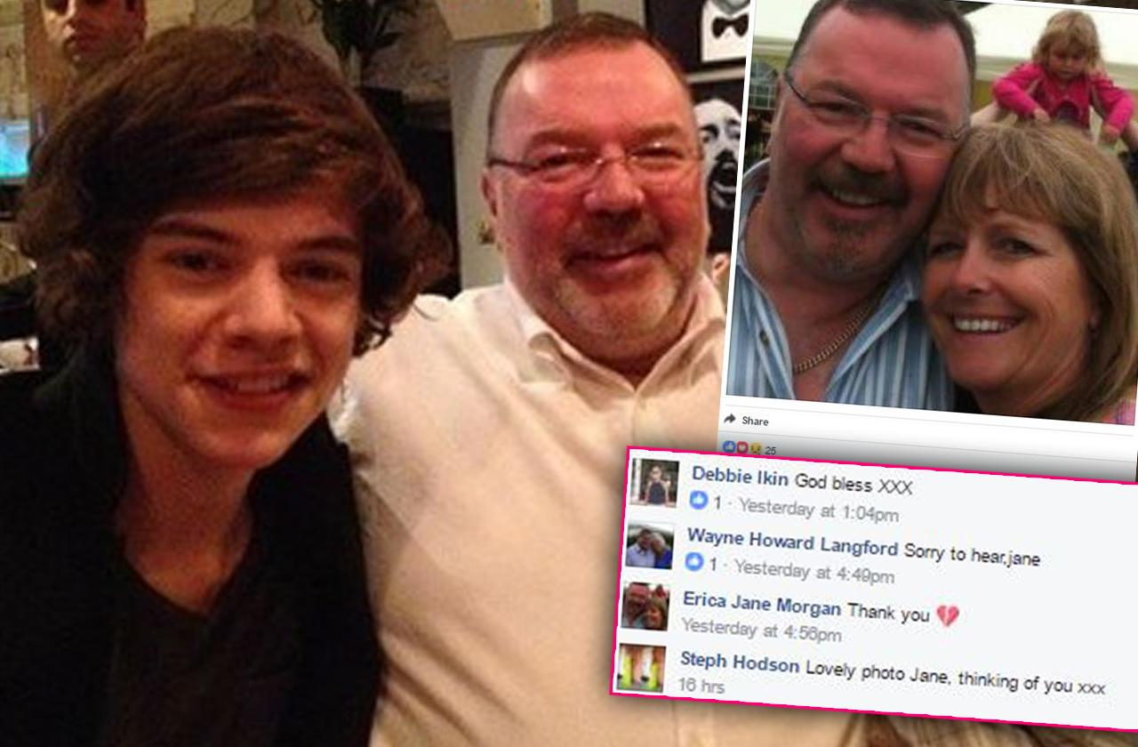 //harry styles stepfather dead PP