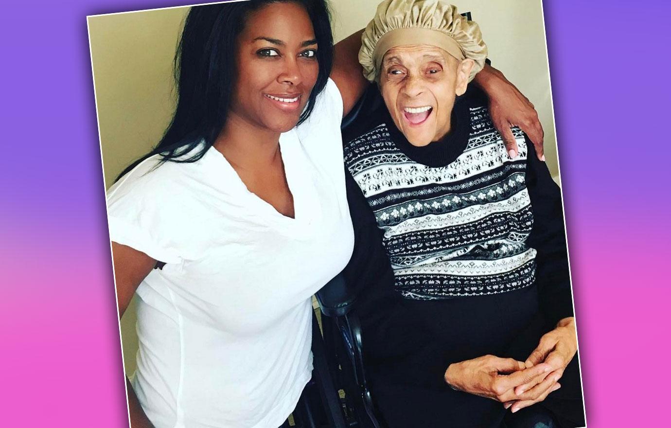 Kenya Moore Mourns Grandma Death Kim Zolciak Fight