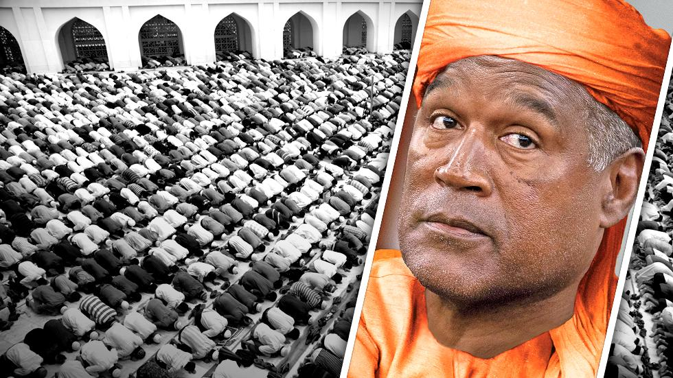 //oj simpson becoming muslim