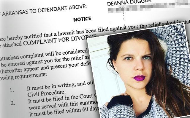 //amy duggar divorce deanna duggar