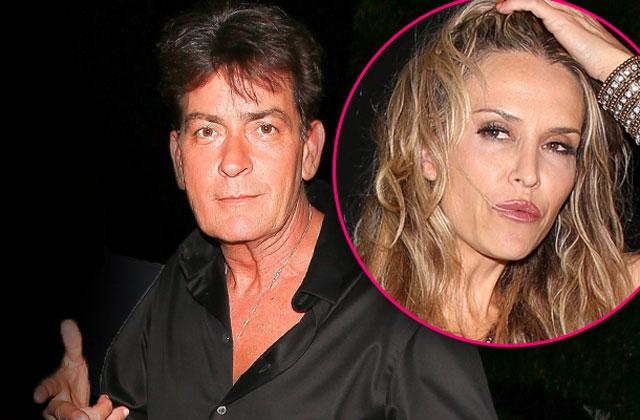 charlie sheen brooke mueller hospitalization poem