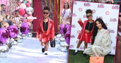 Kim Kardashian Daughter North Models Fashion Show