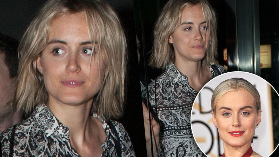 Taylor Schilling No Makeup NYC