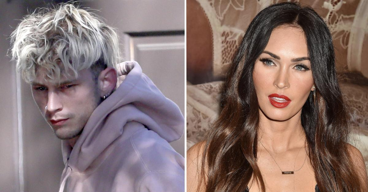 Machine Gun Kelly Sneaks Out Of Club With Mystery Blonde Amid Reports Megan Fox Relationship Is Getting Serious - Radar Online