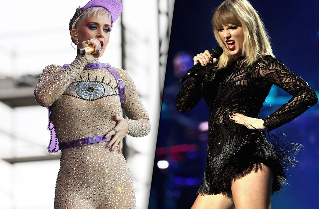 katy perry taylor swift us weekly famous feuds
