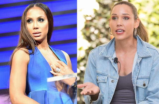 //lolo jones tamar braxton fight in celebrity big brother house pp