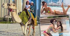 Farrah Abraham Bikini Curves Beach Dubai