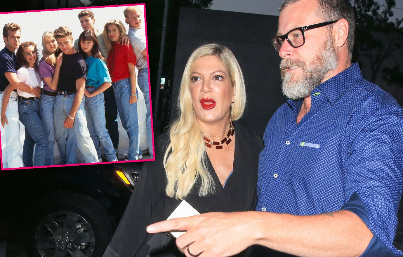 Tori Spelling's Husband Dean Terrified She'll Break Down If 90210 Reboot Flops