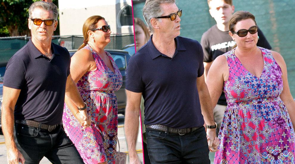 //pierce brosnan wife keely shaye smith west hollywood photos