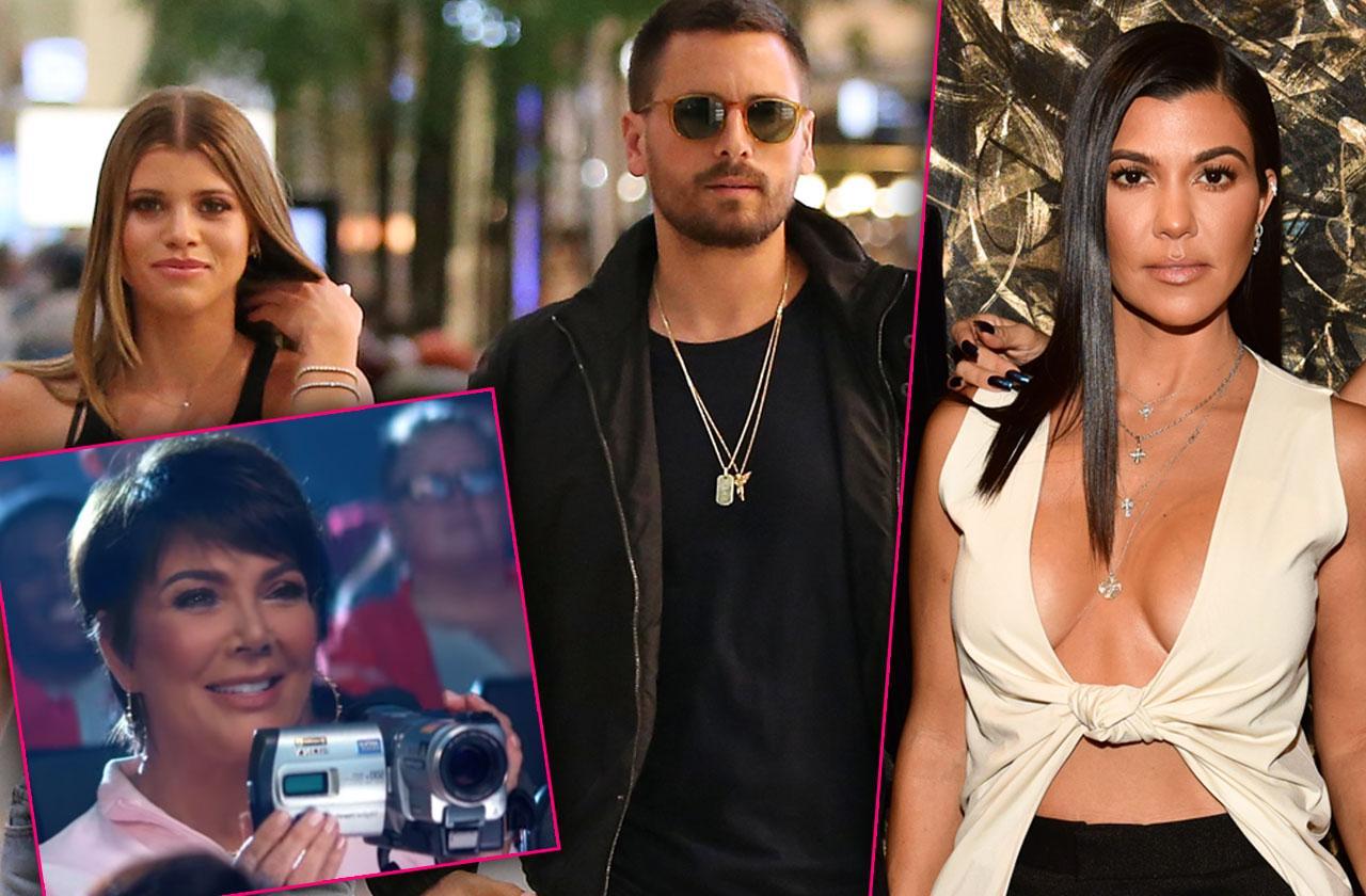 Scott Disick Kourtney Kardashian Sophia Richie Vacation Filmed KUWTK
