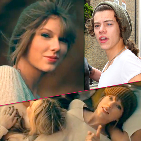 //taylor swift video harry styles