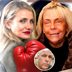 //cameron diaz asked celebrity boxing tan mom declines sq
