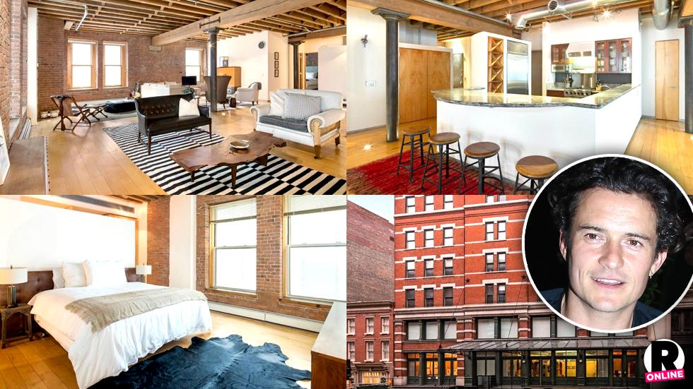 Orlando Bloom Selling Tribeca Loft