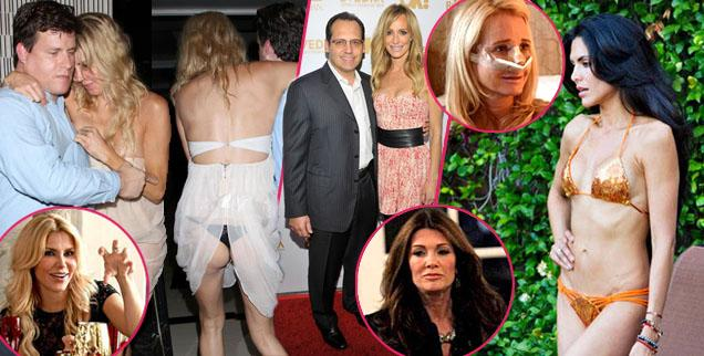 // oh no they didnt  scandals and controversiesthe real housewives of beverly hills_ would rather you forget