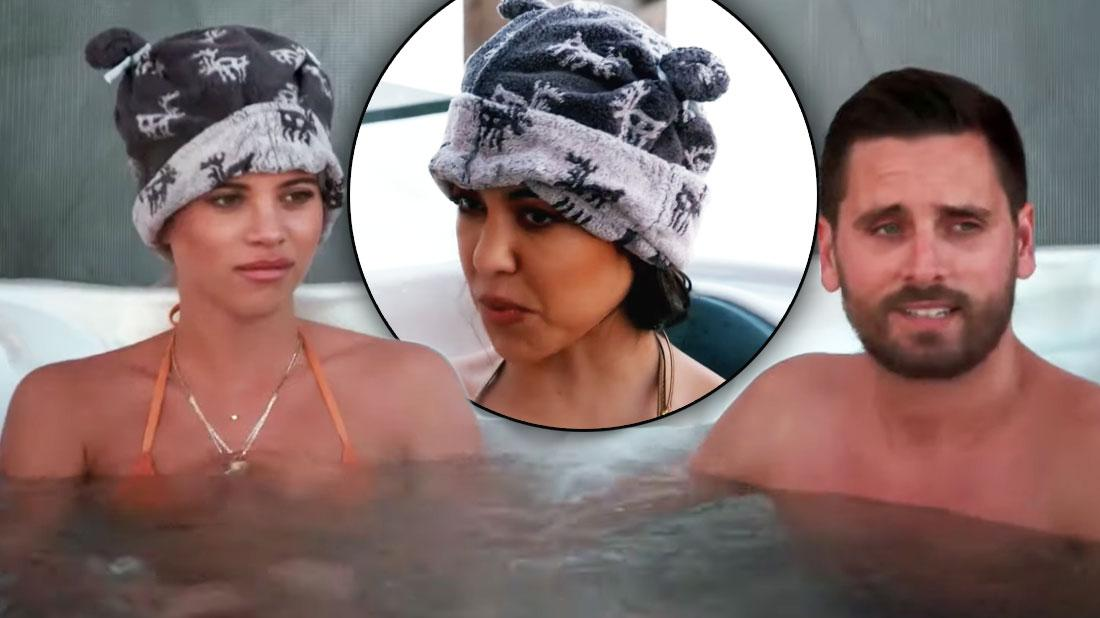 Sofia Richie 'KUWTK' Debut: Hot Tub Scene With Kourtney & Scott