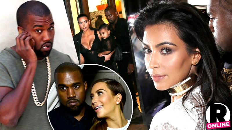// rifts rumors outrageous moments kimye kanye west kim kardashian marriage pp sl