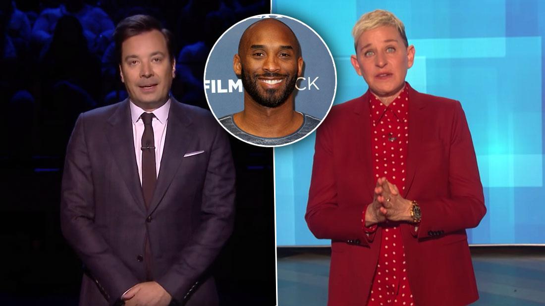 Jimmy Fallon & Ellen DeGeneres Cry Over Kobe Bryant Death