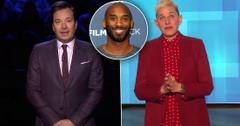 Jimmy Fallon & Ellen DeGeneres Cry Over Kobe Bryant Death
