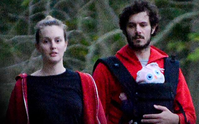 Leighton Meester Post Baby Body Daughter First Sighting