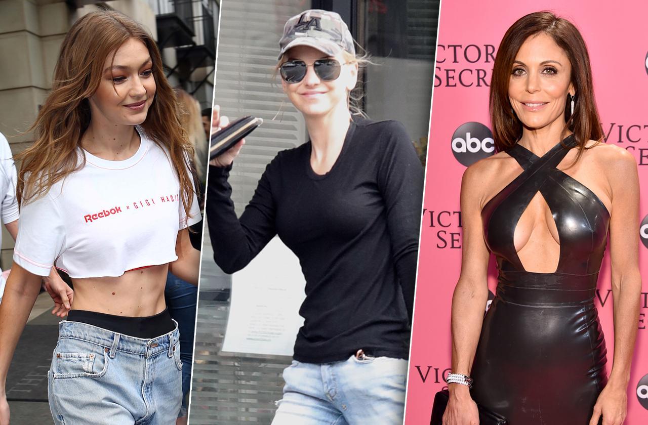 Gigi Hadid, Anna Faris, Bethenny Frankel, Skinny Stars Thanksgiving Diets