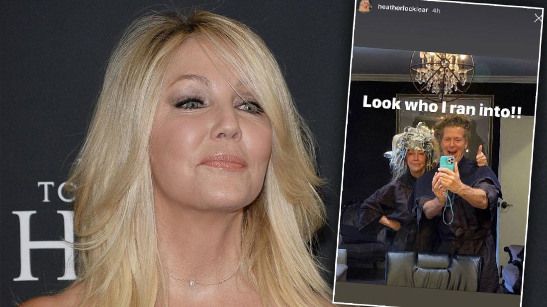 Heather Locklear Reunites With Ex Jack Wagner