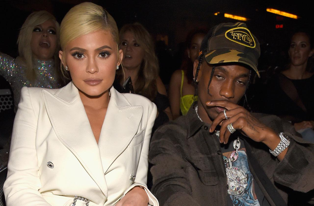 Kylie Jenner Travis Scott Slept Separate Hotels VMAs