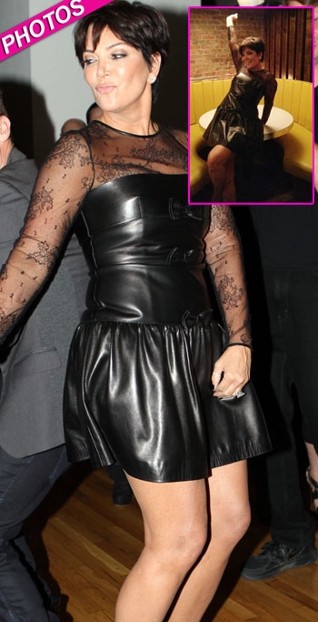 //kris jenner short dress